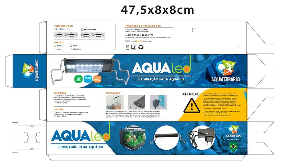 Embalagem - Iluminação para aquário
